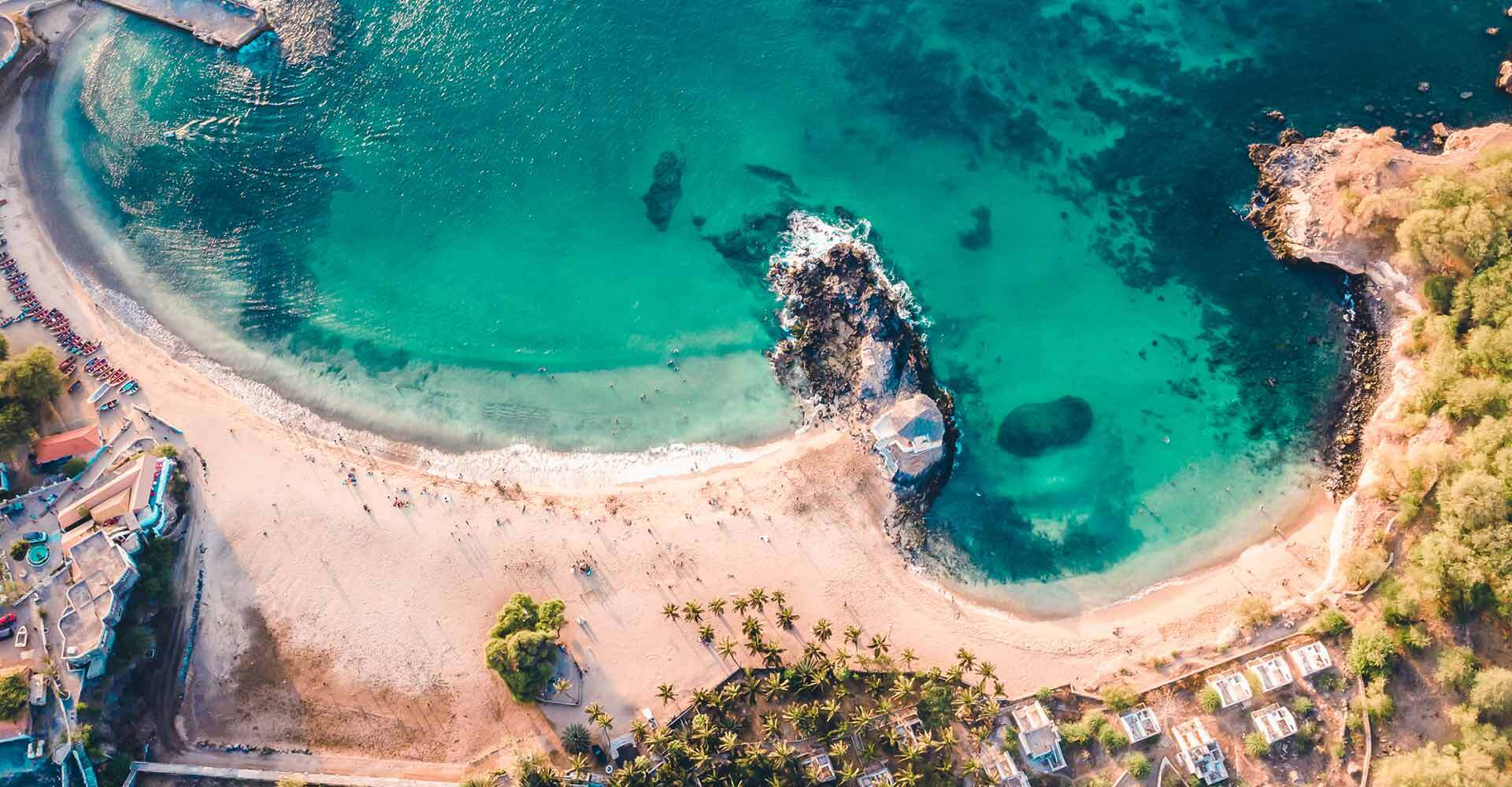 Image of a beach in Cabo Verde