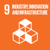 SDG goals icons - Industry, innovation and infrastructure