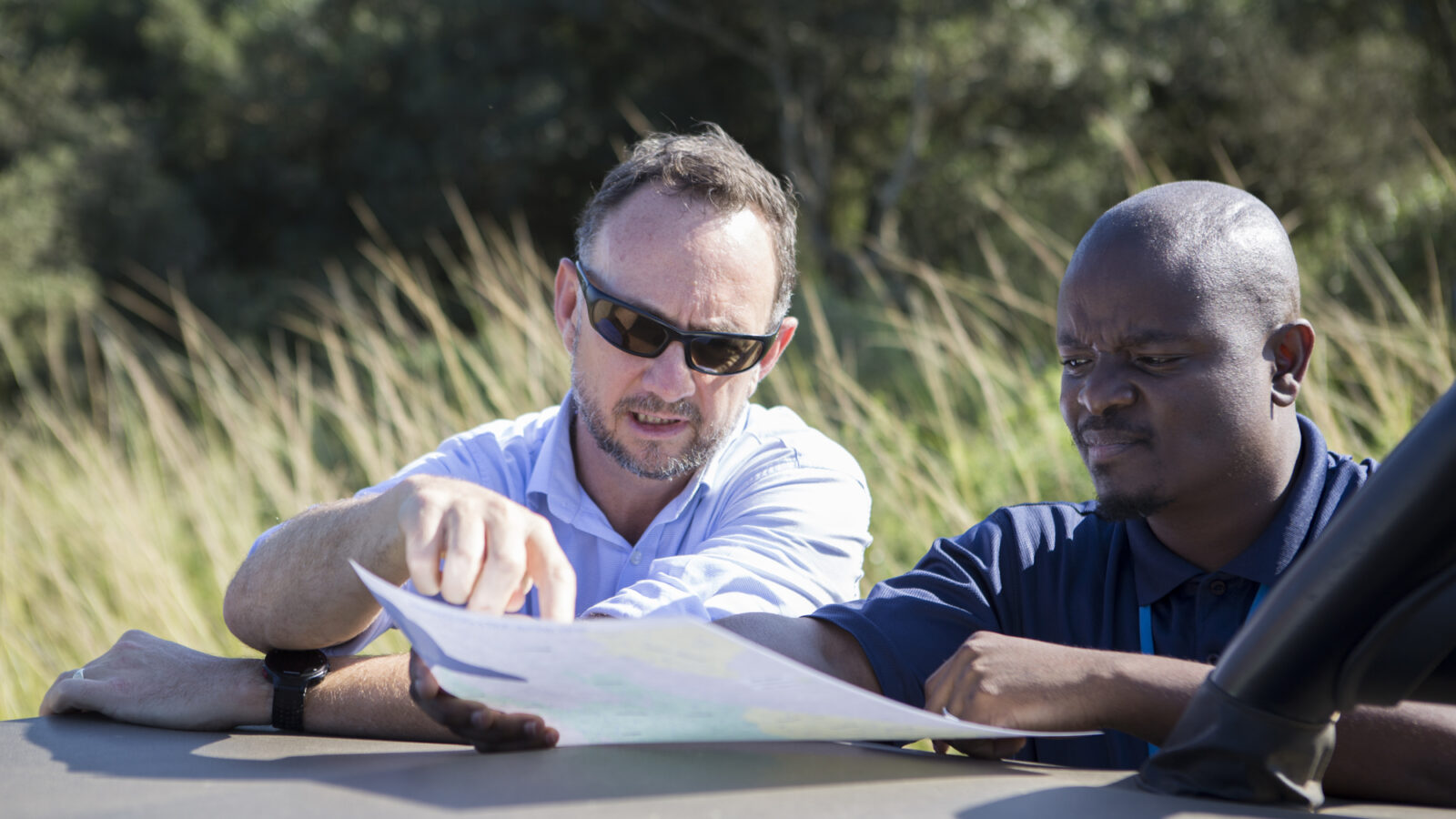 Newton Prize South Africa project researchers doing fieldwork for HIV project