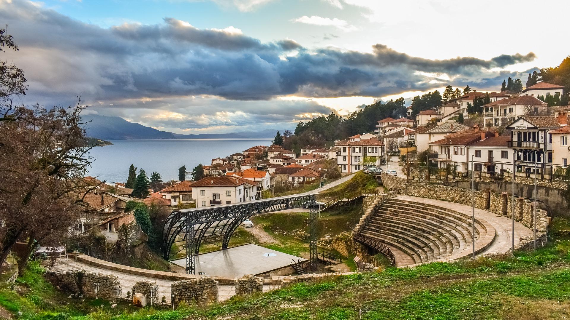 Ohrid in North Macedonia
