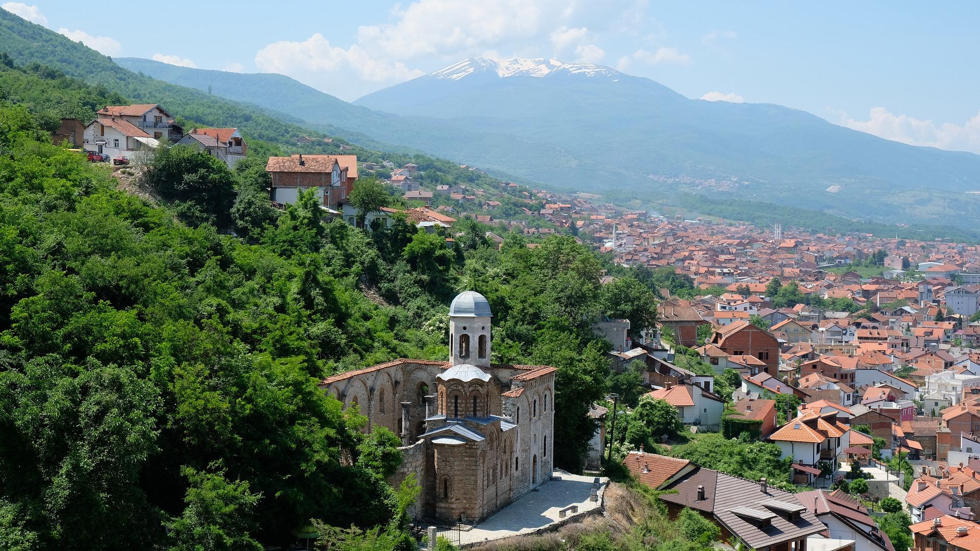 Kosovo Prizren townscape