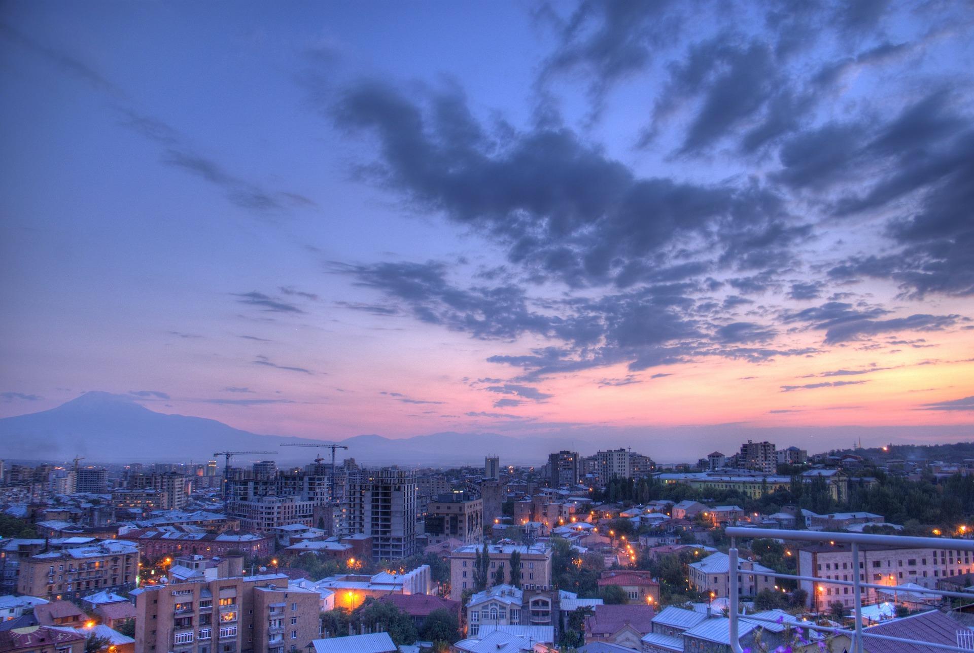Yerevan city in Armenia