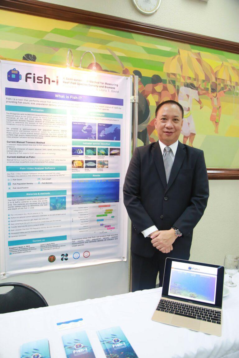 Fish-I co inventor and PH LIF3 alumnus Professor Prospero Naval Jr